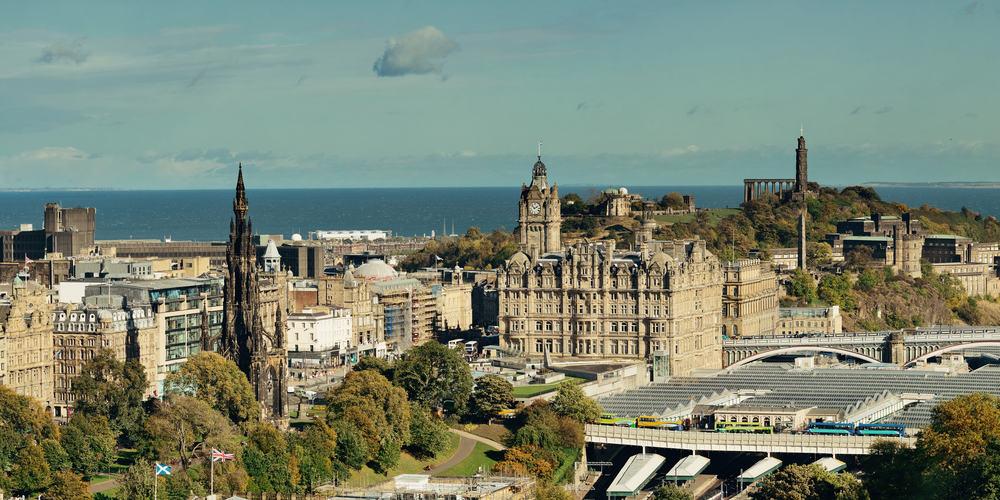 Edinburgh i Skotland