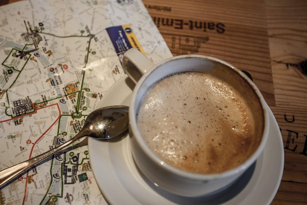 Kaffe - Paris i Frankrig