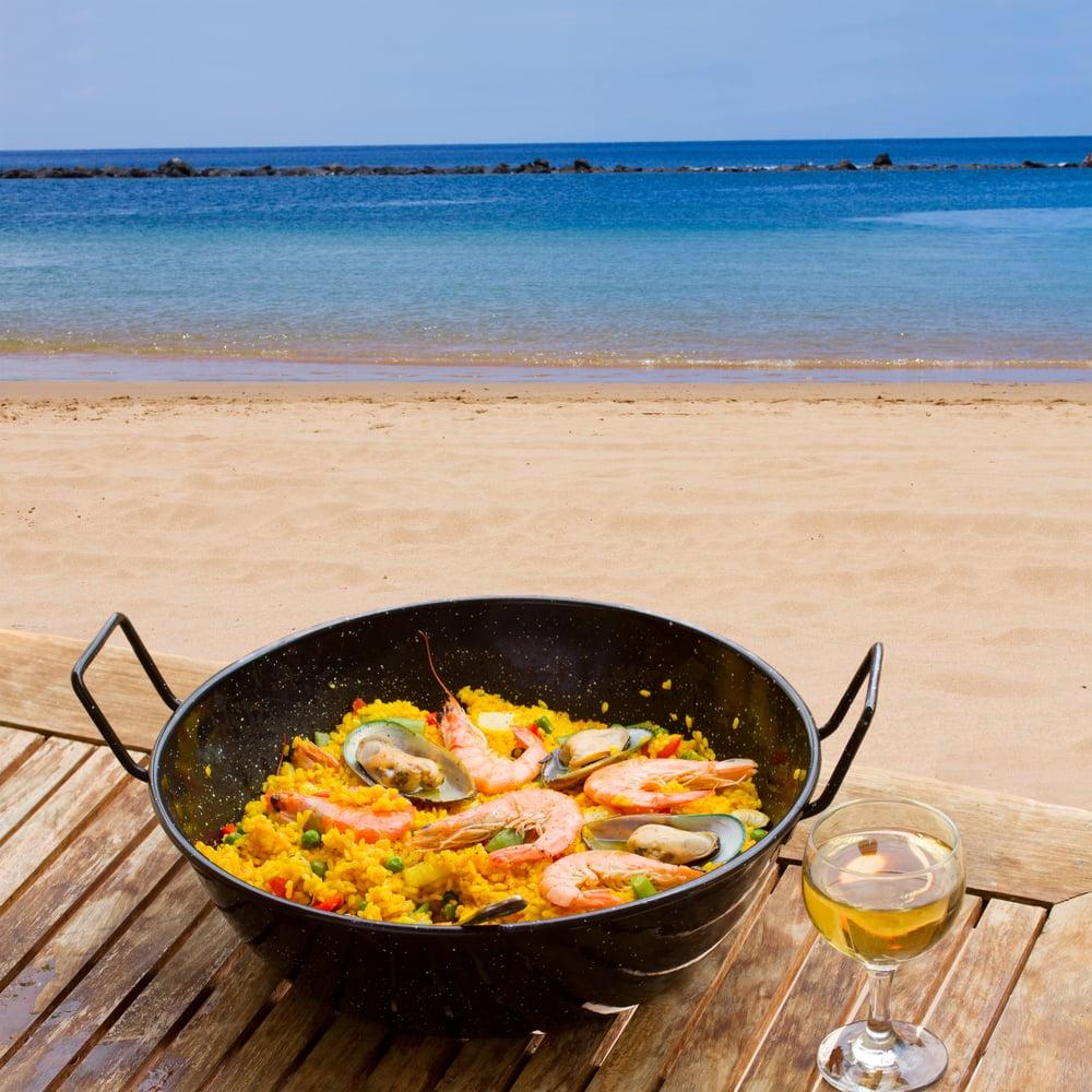 Paella - Tenerife i Spanien