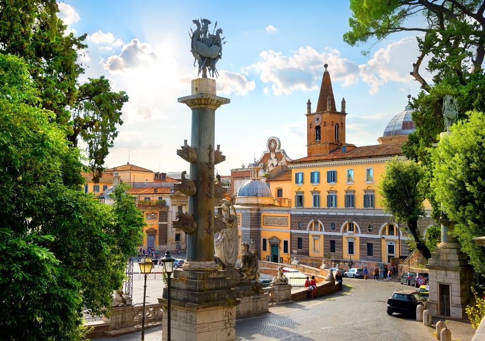 Piazza del Popolo - Rom i Italien