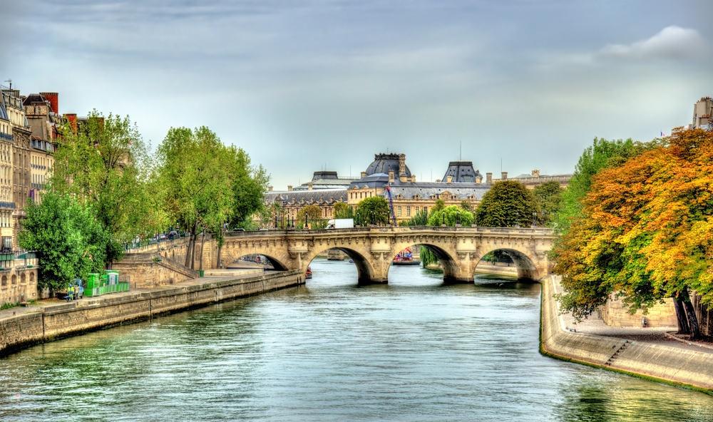 Pont Neuf broen - Paris i Frankrig