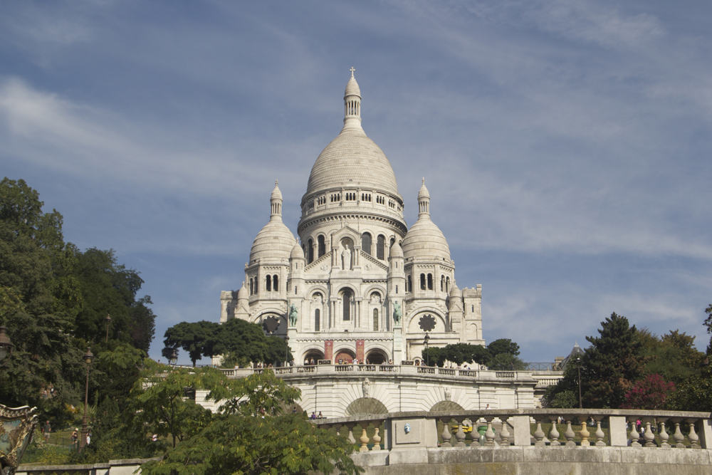 Sacre Coeur - Paris i Frankrig