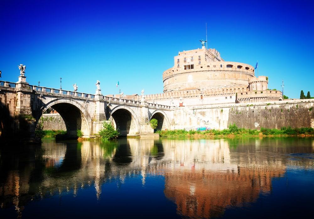 Saint Angelo slottet - Rom i Italien