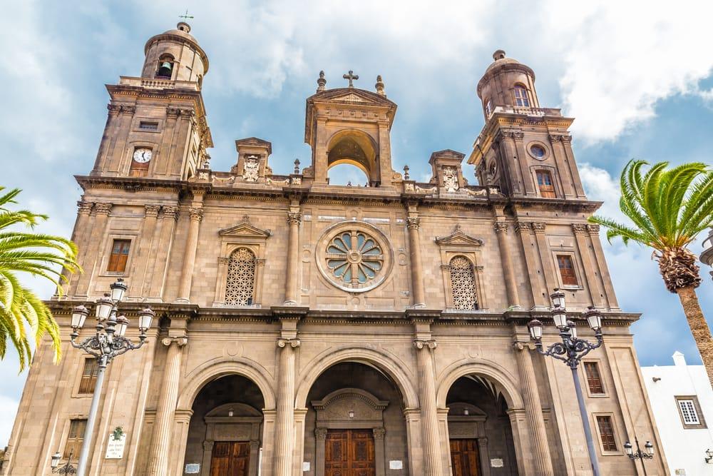 Santa Ana katedralen - Gran Canaria i Spanien