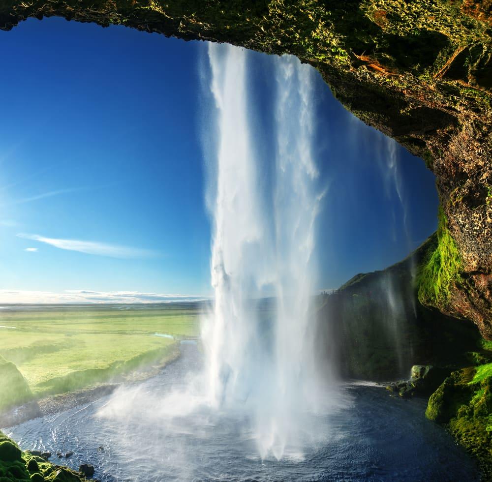 Seljalandfoss vandfaldet - Island