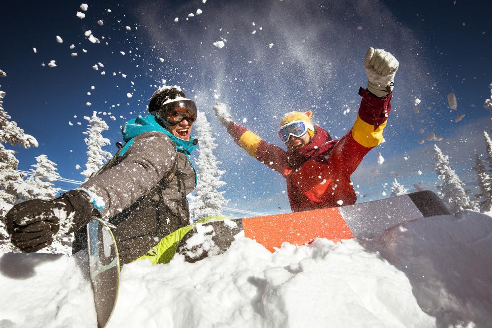 Sjov på ski - Hafjell i Norge