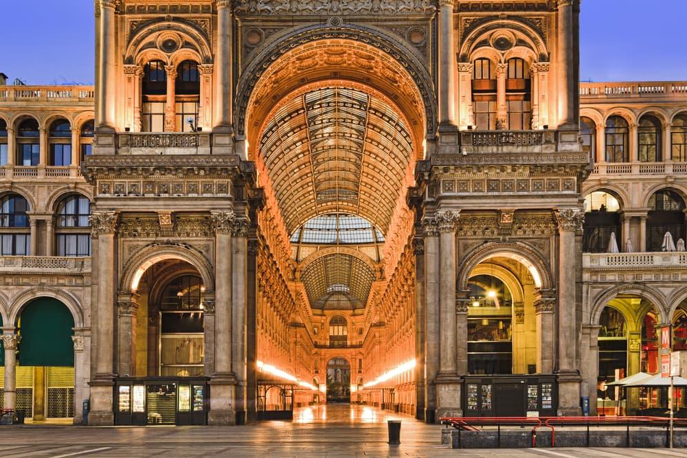 Vittorio Emanuele II - Milano i Italien
