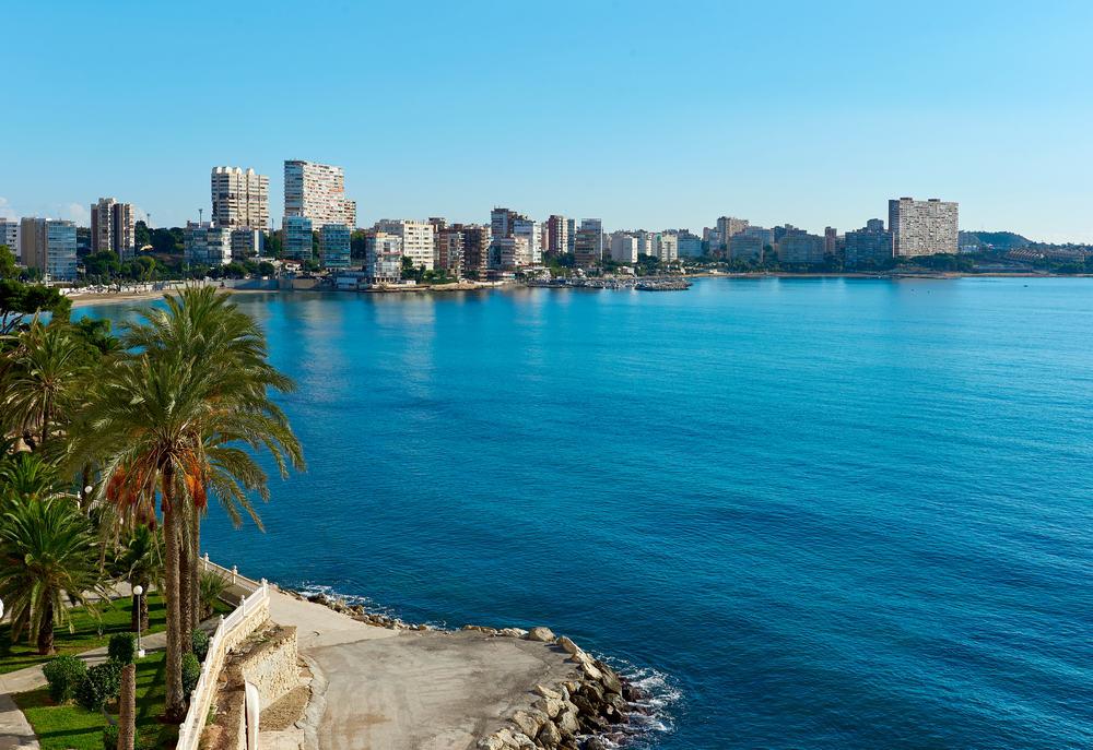 Albufereta - Alicante i Spanien