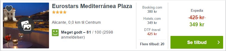 Hotel Eurostars Mediterránea Plaza