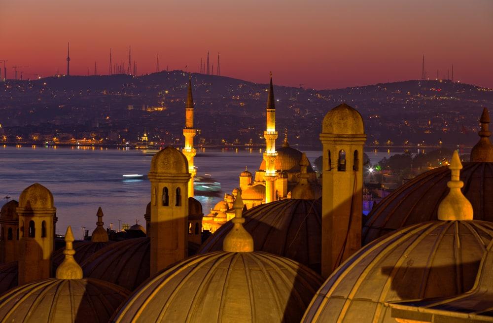 Bosphorus strædet - Istanbul i Tyrkiet