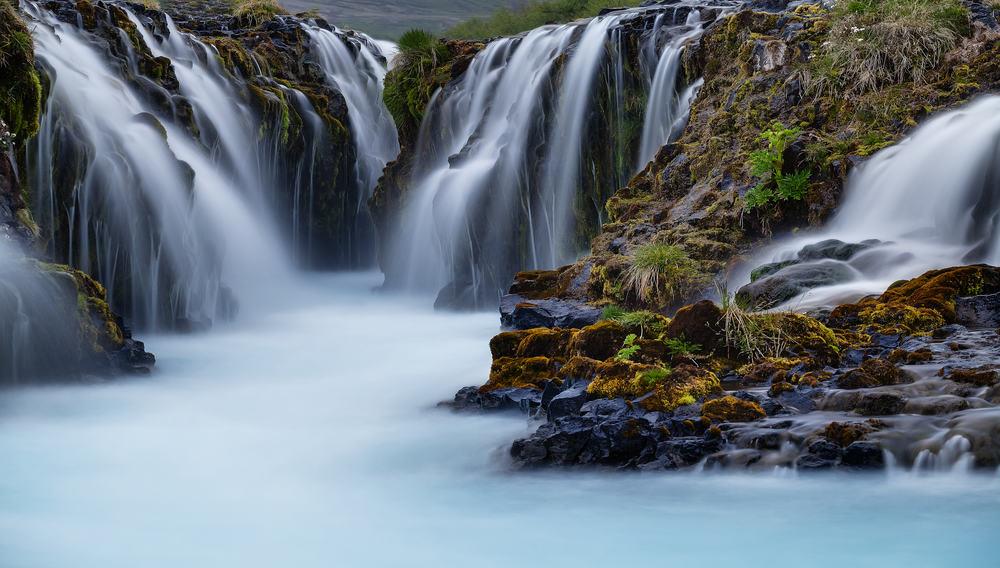 Bruarfoss på Island