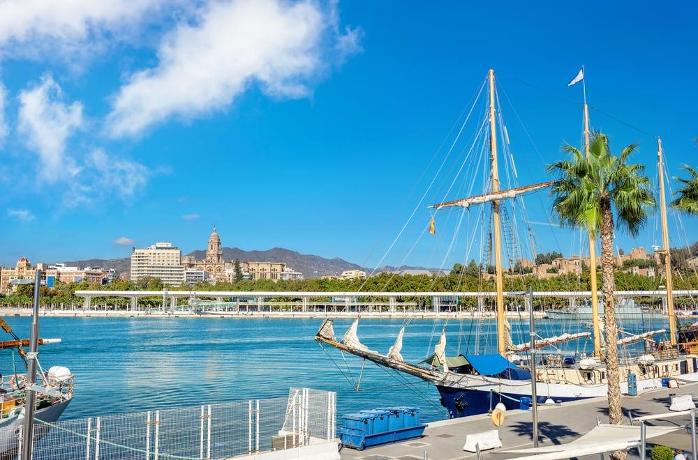 Havn - Malaga i Spanien