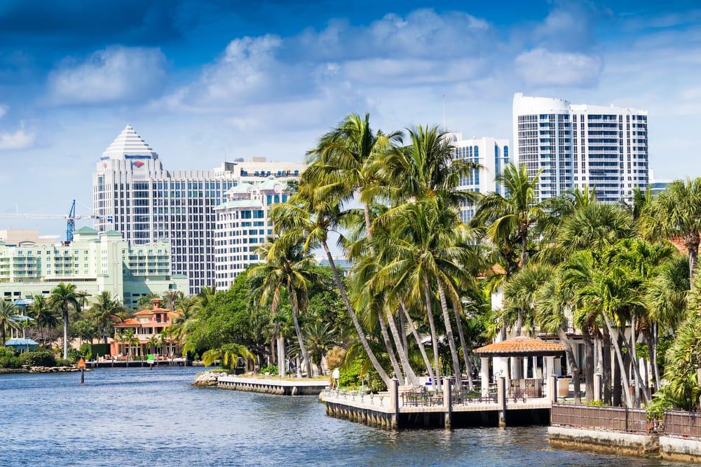 Kanaler - Fort Lauderdale i Florida