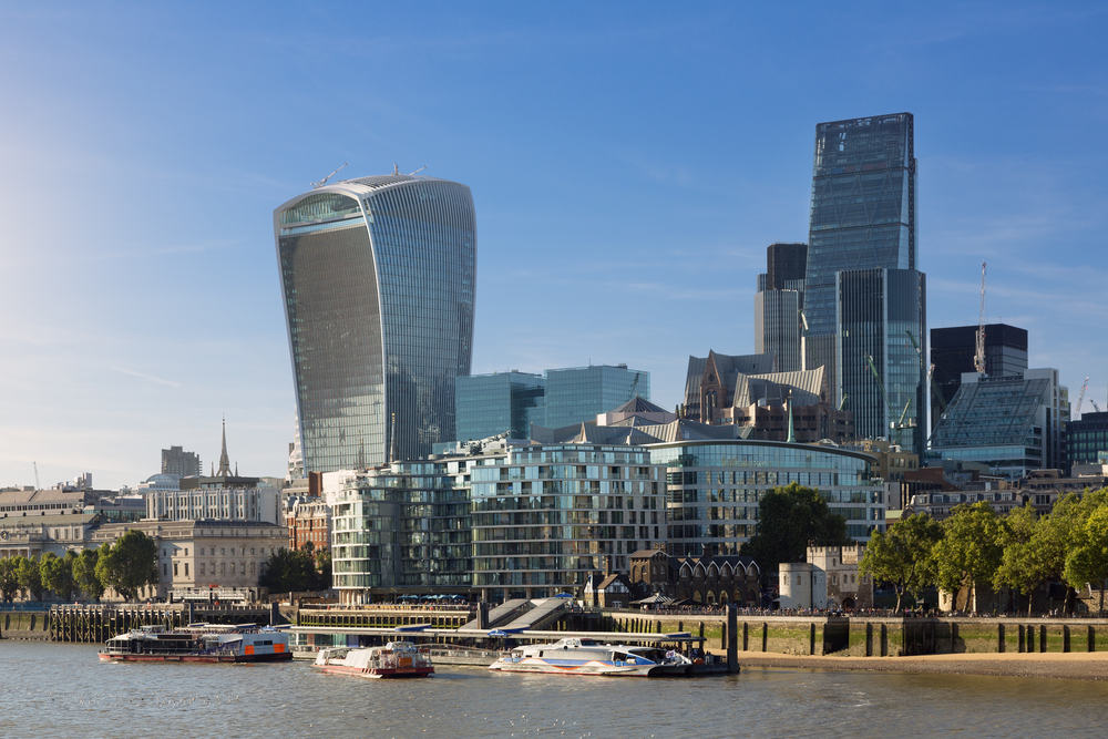 Londons finansdistrikt