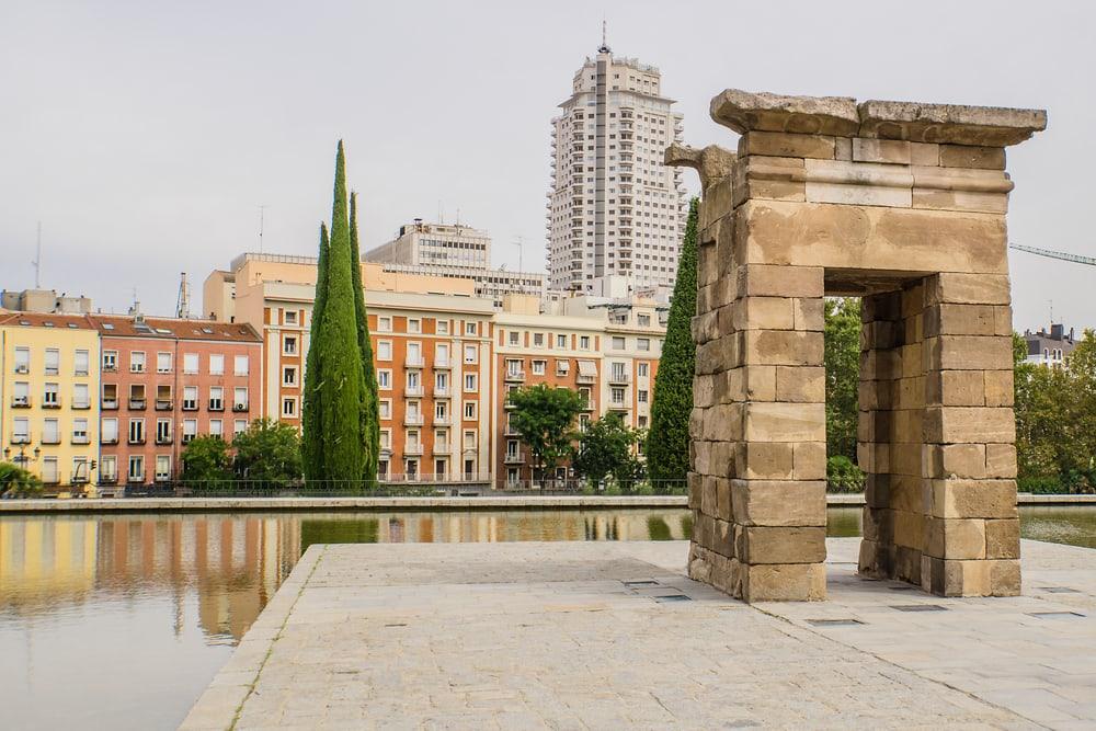 Parque del Oeste - Madrid i Spanien