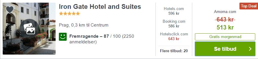 Iron Gates Hotel and Suites - Prag i Tjekkiet
