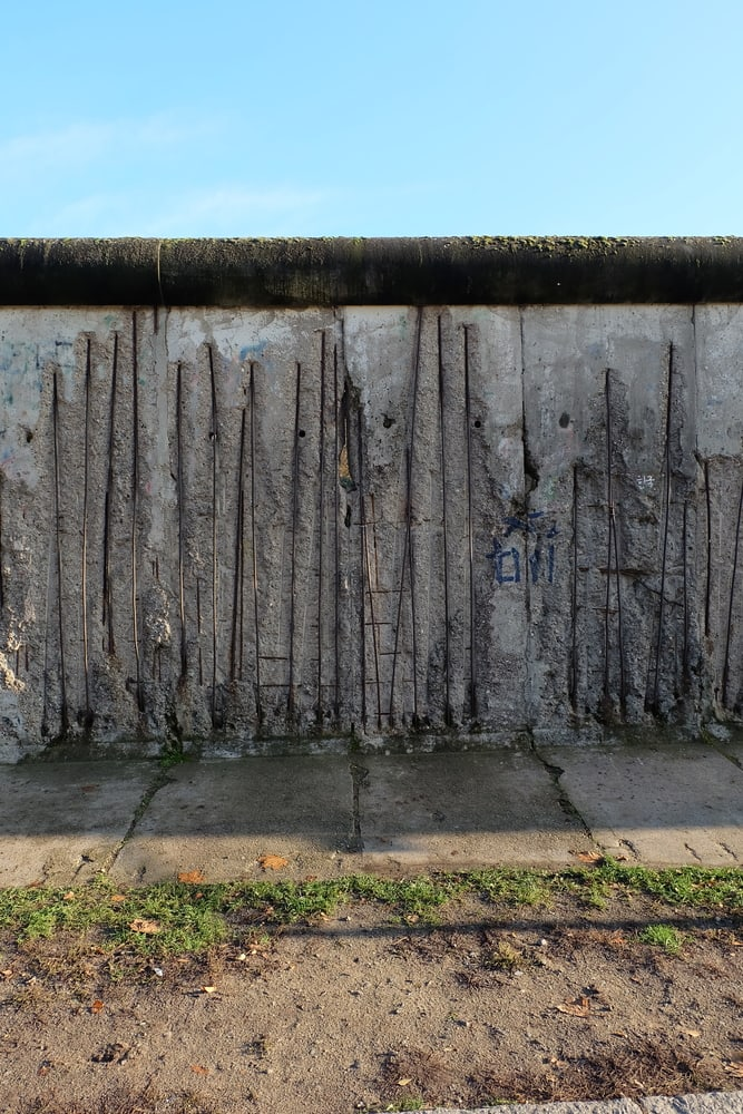 Rester af Berlinmuren