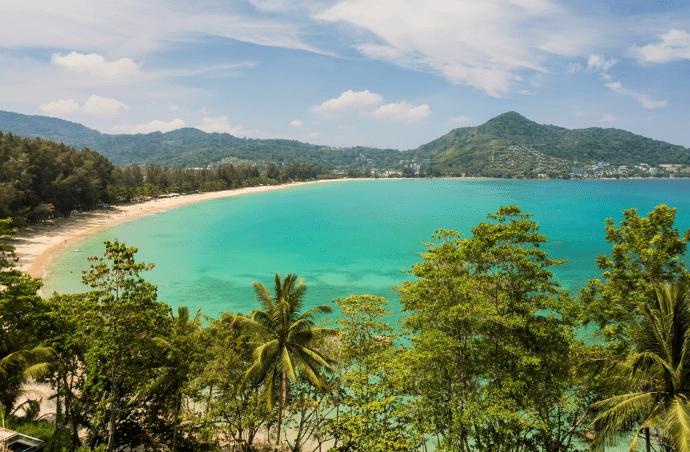 Smuk natur - Phuket i Thailand