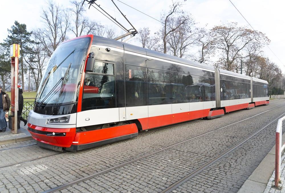 Sporvogn - Prag i Tjekkiet