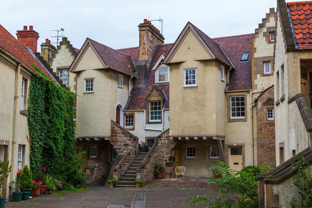The White Horse Close - Edinburgh i Skotland