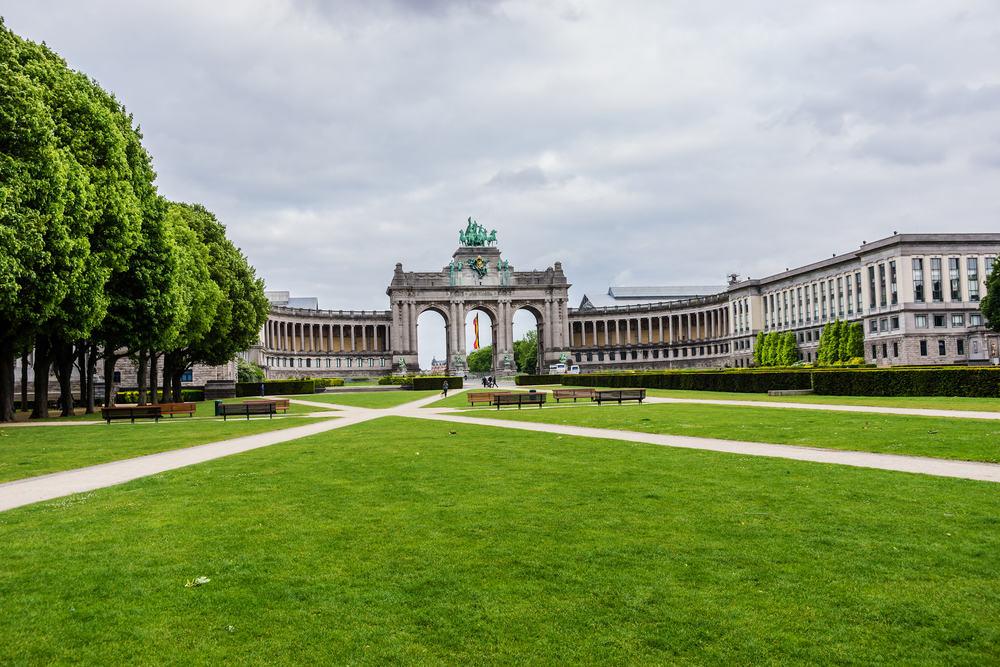 Triumfbuen - Bruxelles i Belgien