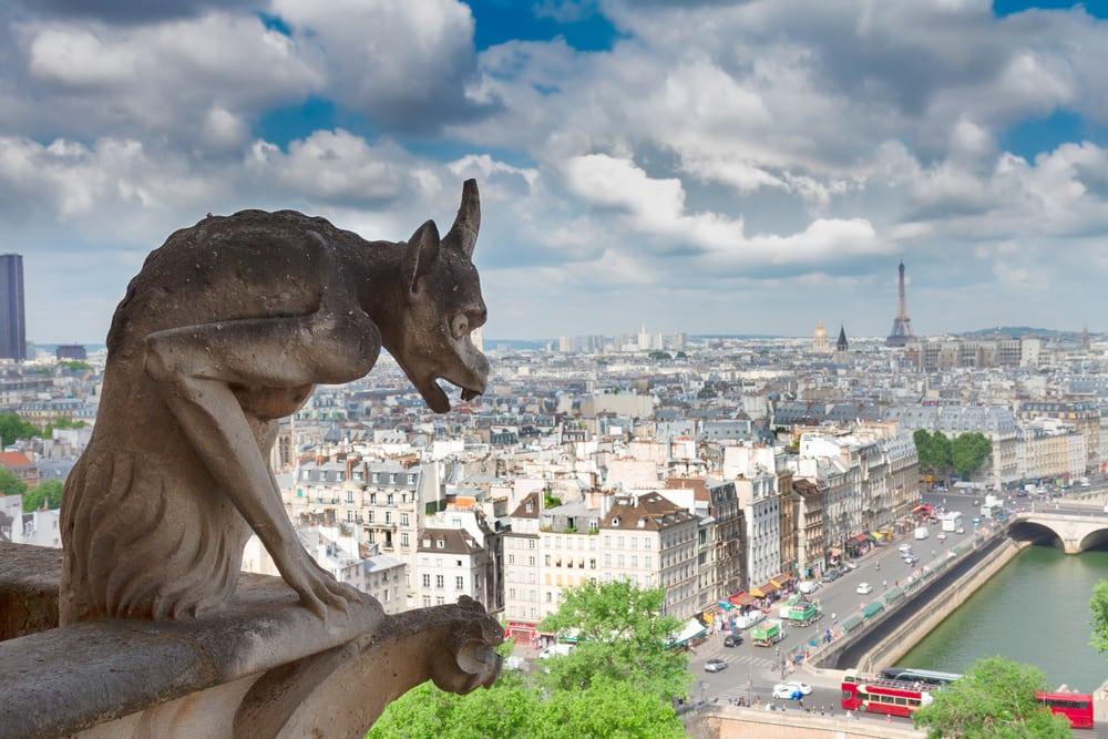 Udsigt over Paris fra Notre Dame
