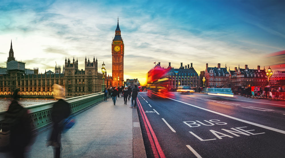 Westminster Bridge - London i England