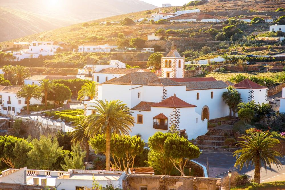 Betancuria - Fuerteventura i Spanien