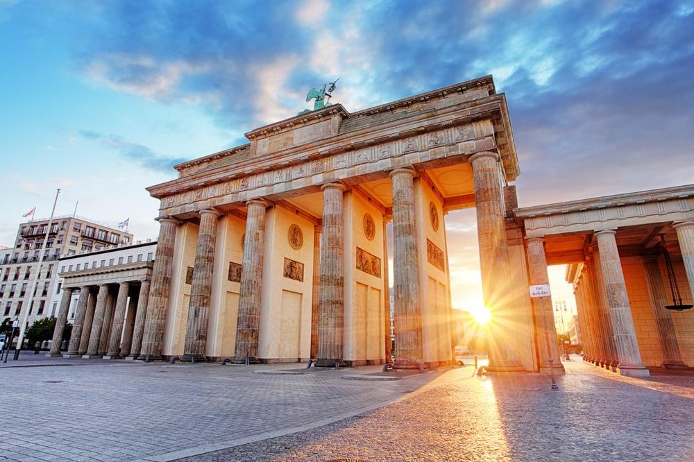 Brandenburger Tor i Berlin - Tyskland