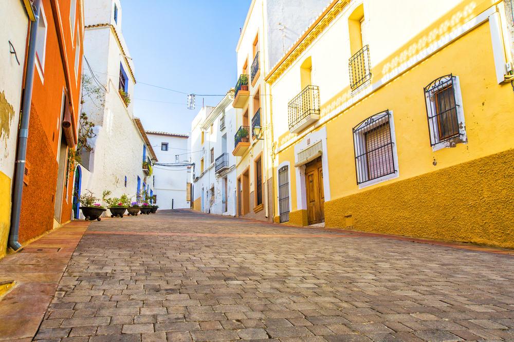 Calpe - Alicante i Spanien