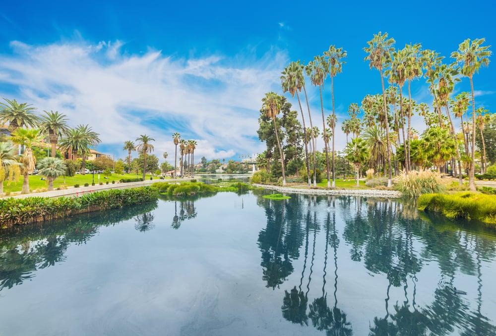 Echo Park - Los Angeles i Californien