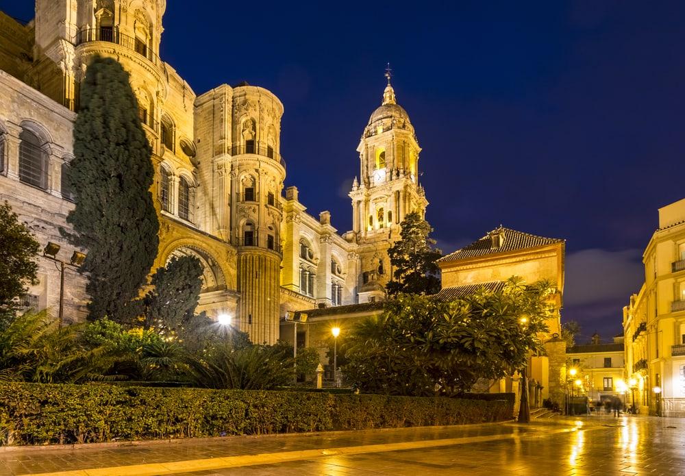 Katedral i Malaga - Spanien