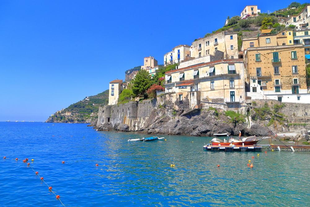 Minori - Amalfikysten i Italien