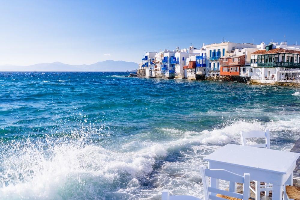 Mykonos i Grækenland