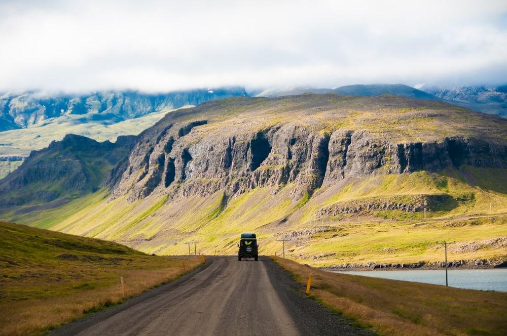 Smuk natur på Island
