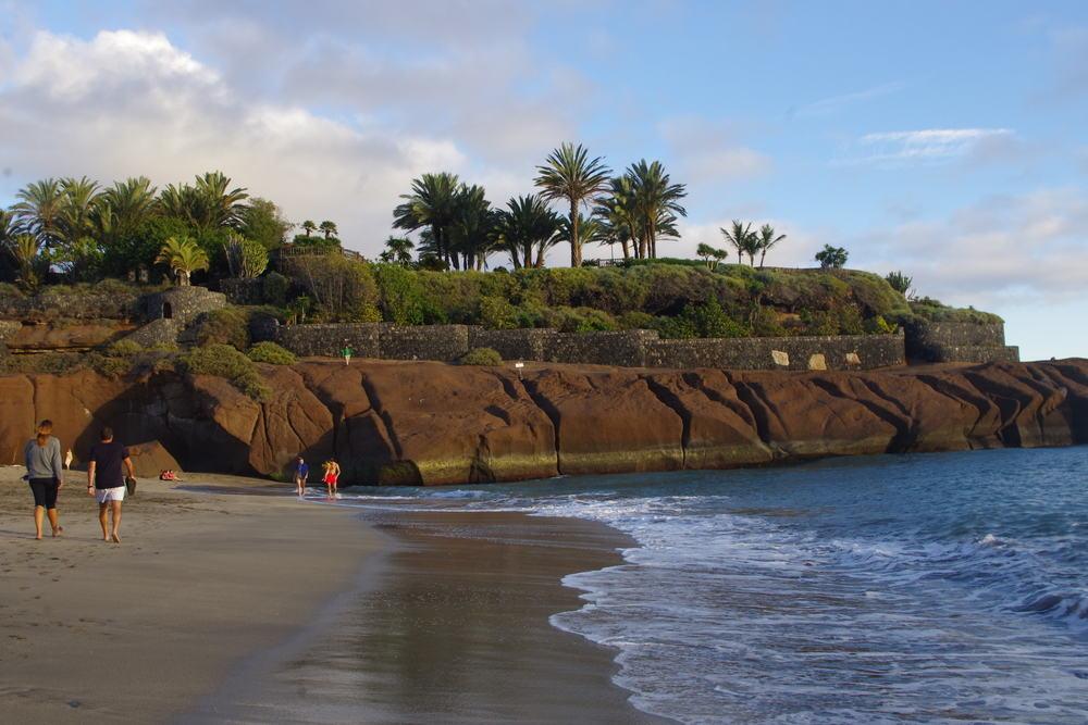 Playa del Duque - Tenerife i Spanien