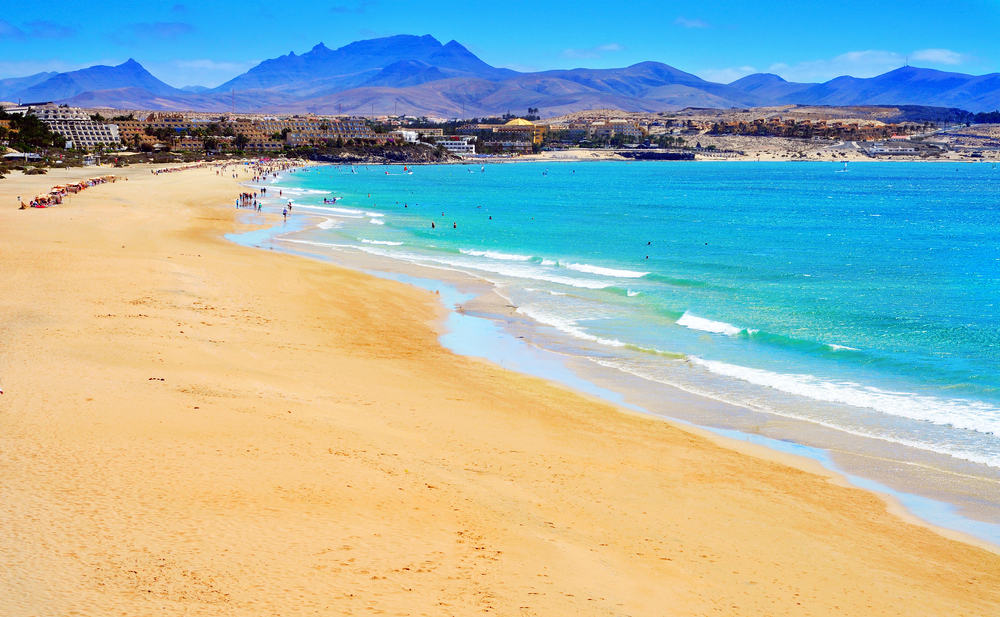 Playa Esmeralda - Fuerteventura i Spanien