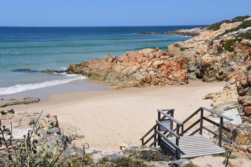 Plettenberg Bay i Sydafrika