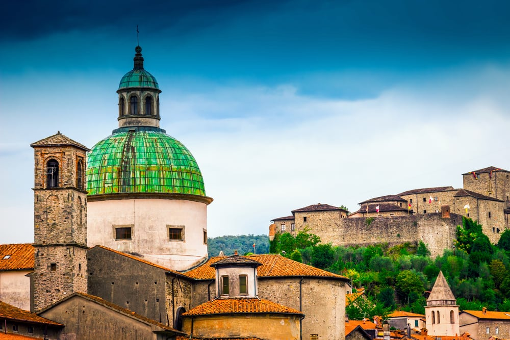 Pontremoli - Ligurien i Italien