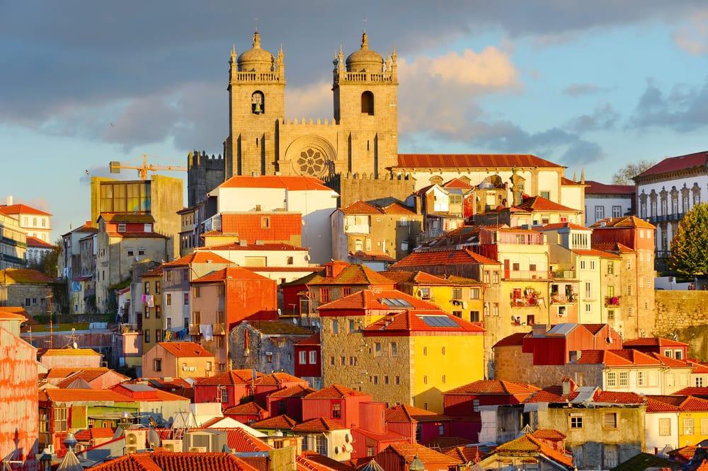 Ribeira - Porto i Portugal