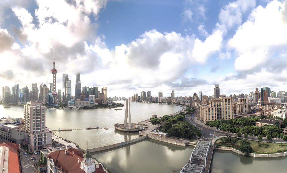 Shanghai skyline - Kina