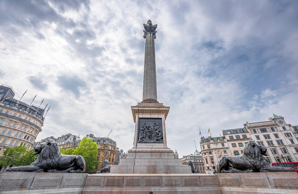 Trafalger Square - London i England