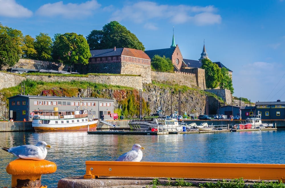Akershus fort - Oslo i Norge