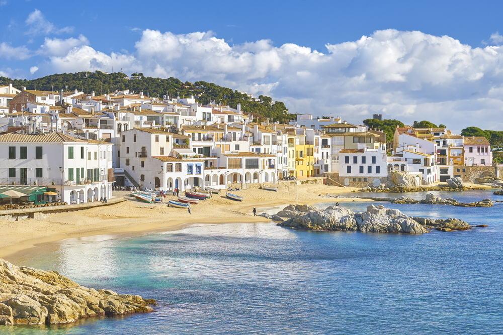 Calella de Parafrugell - Costa Brava i Spanien