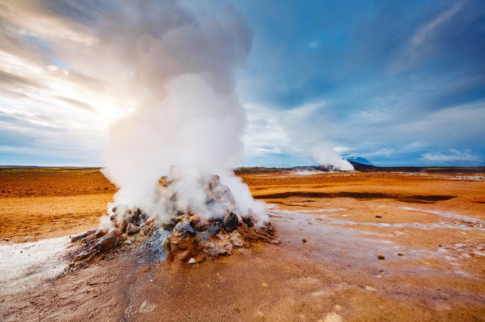 Gejser på Island