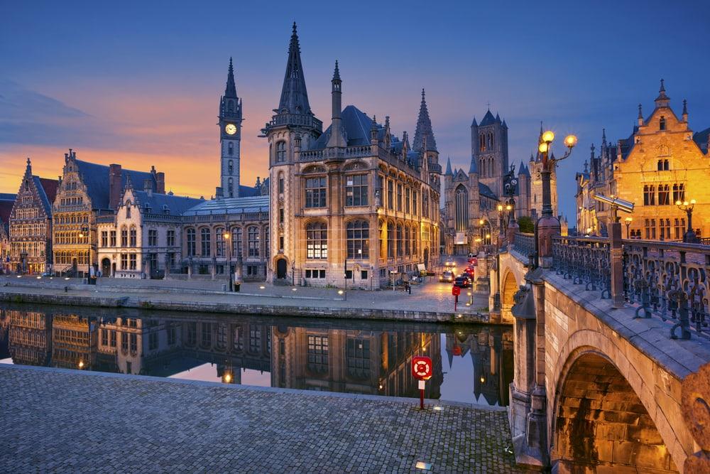 Ghent i Belgien