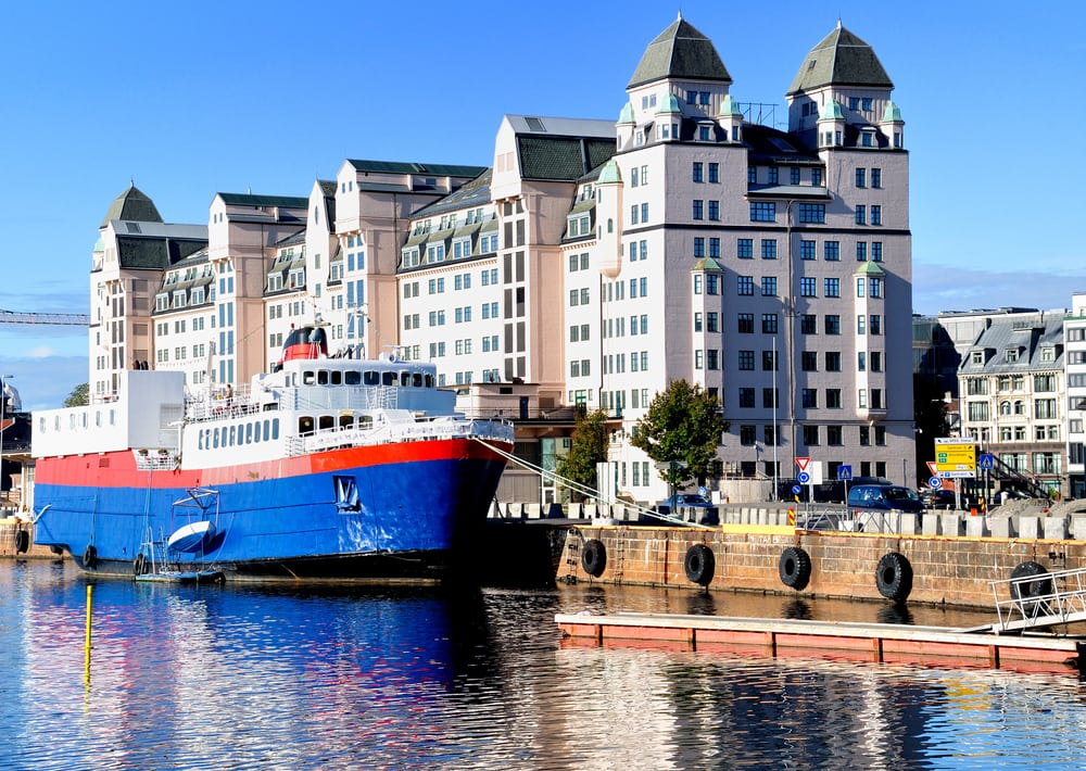 Havnen - Oslo i Norge