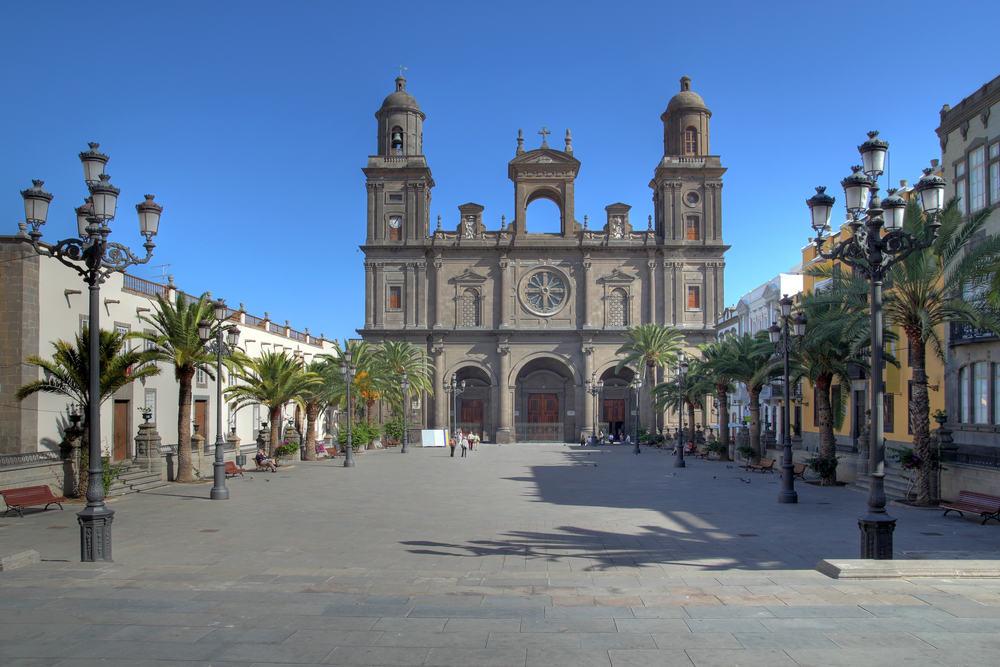 Saint Ana katedralen - Gran Canaria i Spanien