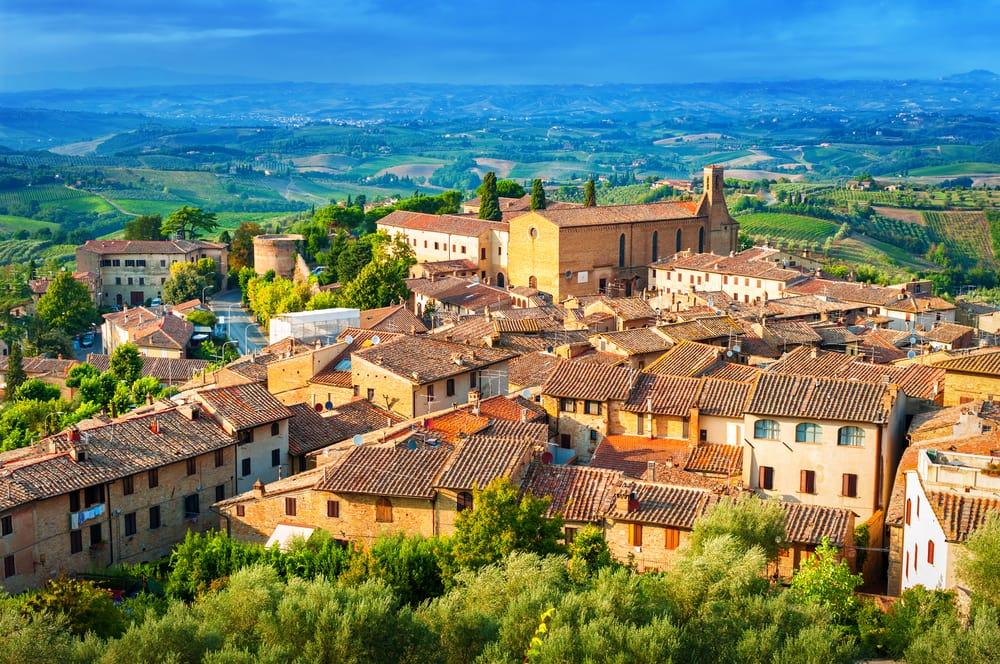 San Gimignano - Toscana i Italien