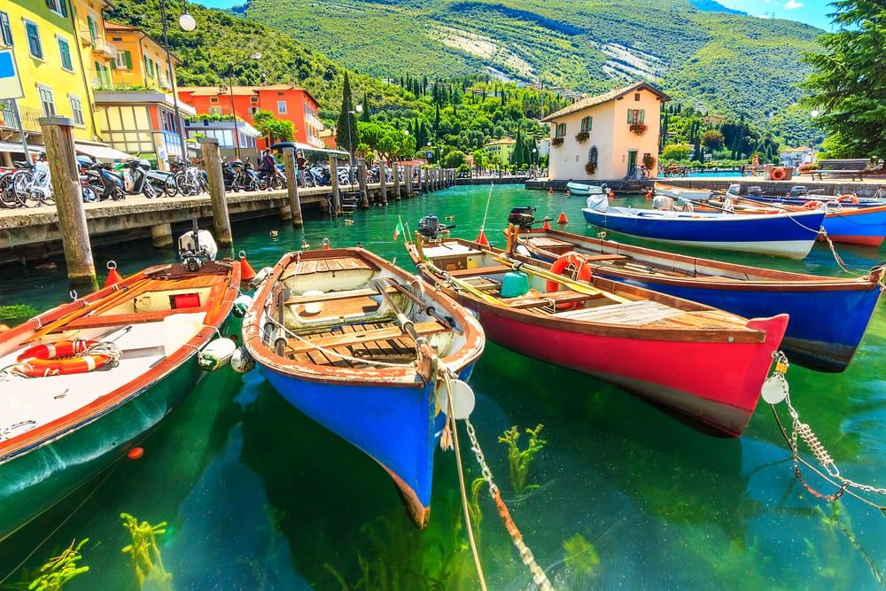 Torbole - Gardasøen i Italien